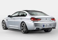 BMW M6 Gran Coupé (2013) Rear Side