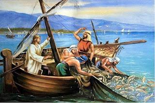 Bertolaklah ke tempat yang dalam dan tebarkanlah jalamu untuk menangkap ikan