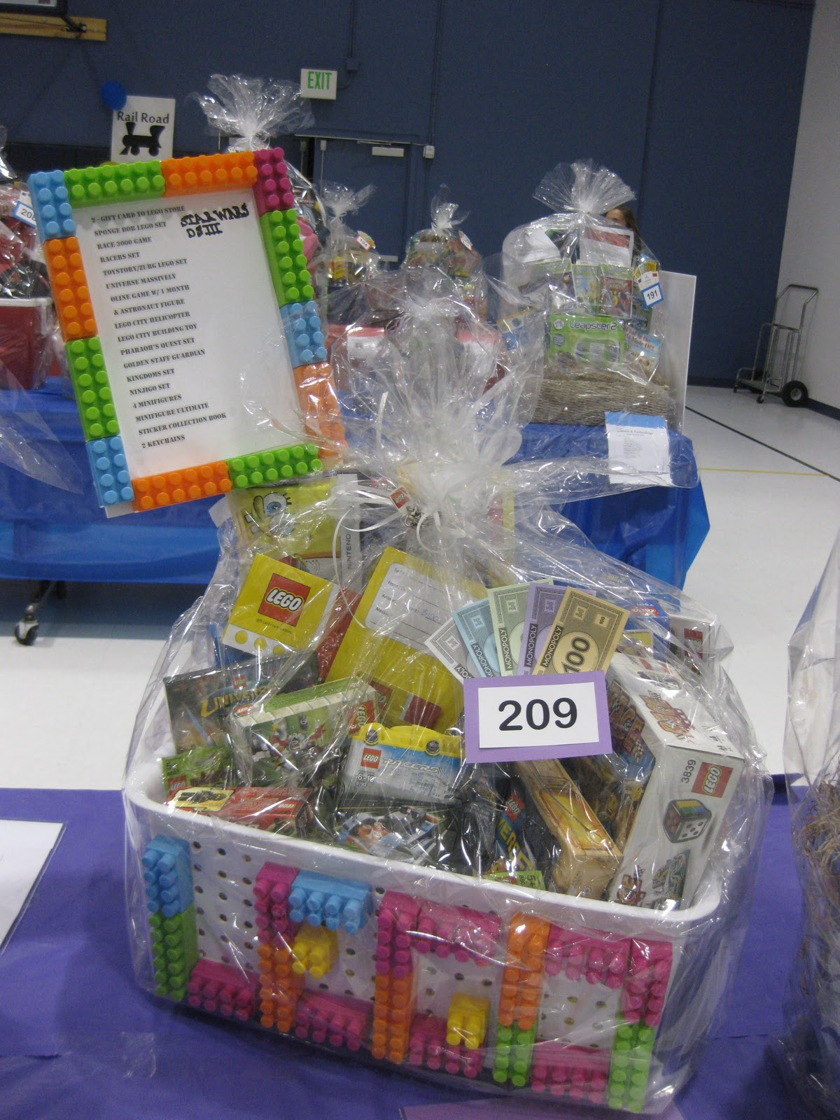 Toy Raffle Prizes : Harmon raffle baskets