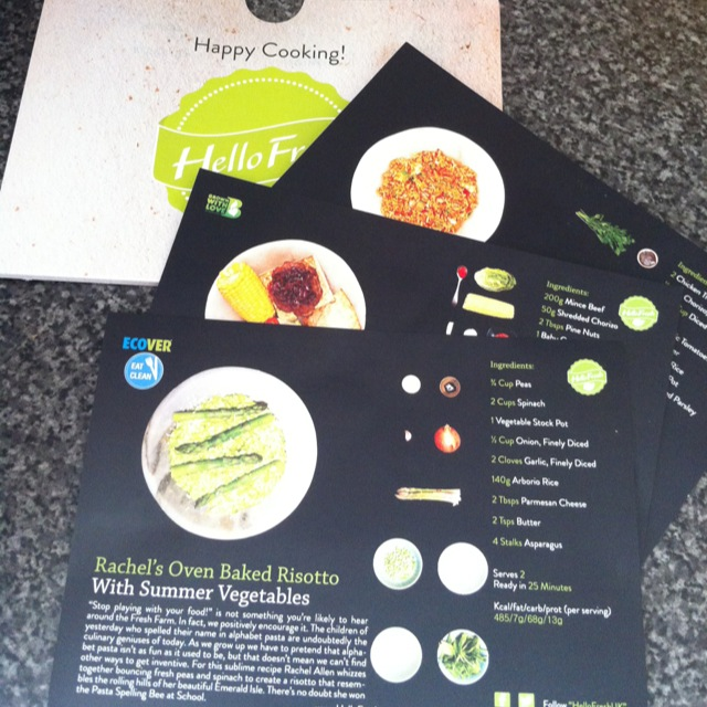 Hello Fresh Food Subscription Box - Review from Peaches and Bear Lifestyle and Travel Blog - peachesandbear.co.uk