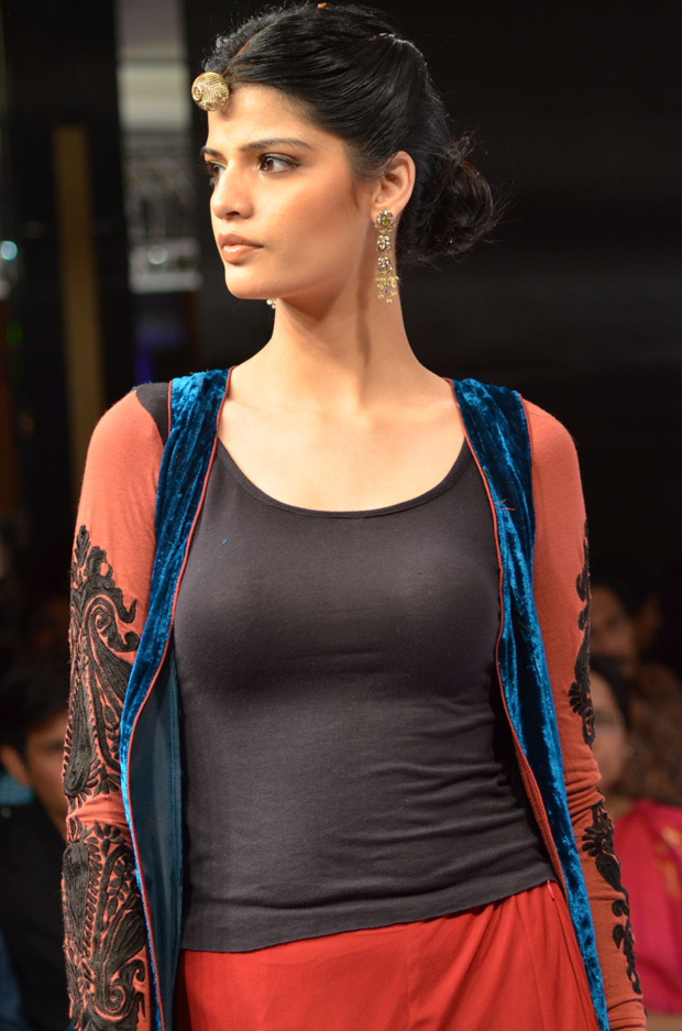 tollywood actress At Blenders Pride Fashion Week