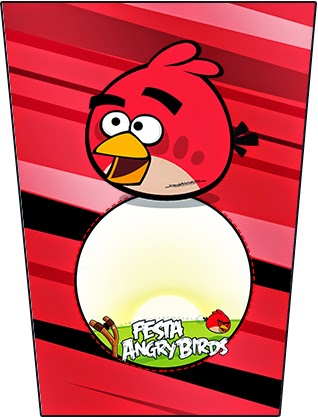 Imprimibles Gratis de Angry Birds.