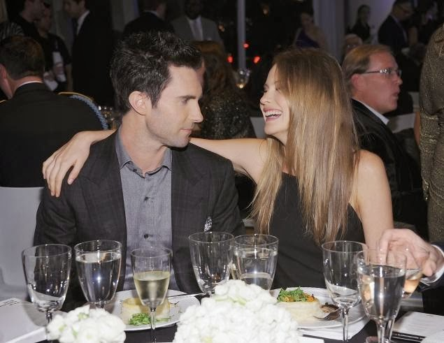 adam levine and fiance