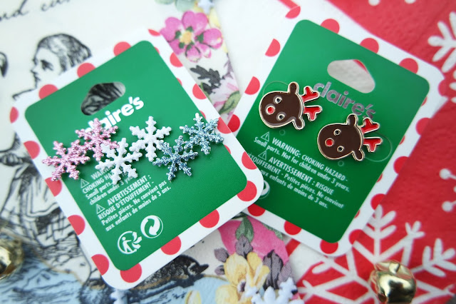 Claire's Accessories Christmas/Festive Earrings