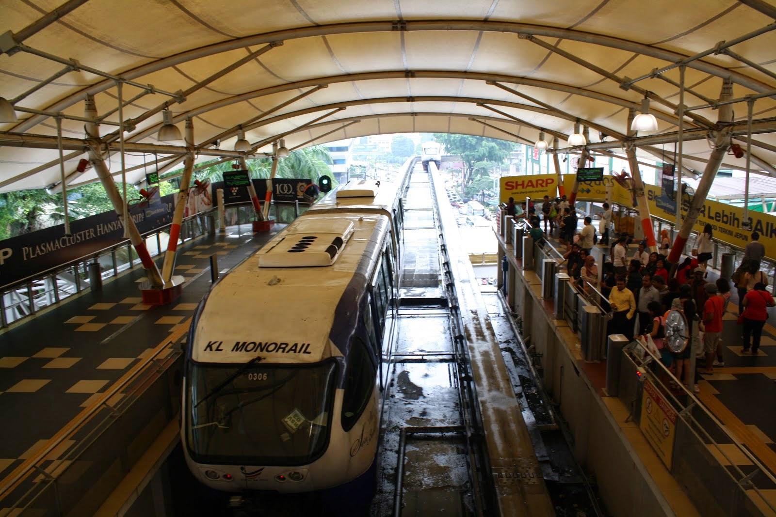 tren en kuala lumpur