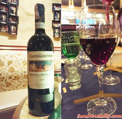 Frecobaldi CastelGiocondo Brunello di Montalcino DOCG, 2008, Italian & Japanese culinary affair, Vila Danieli, Sheraton Imperial KL, Frescobaldi wine, Japanese Sake,