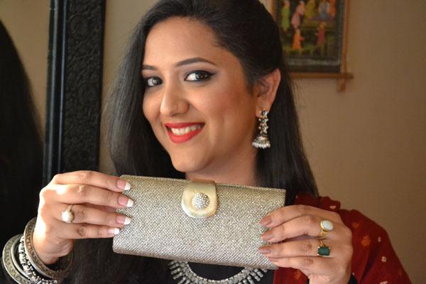 Box Clutch bag india