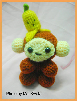 A Monkey For My Monkey: free amigurumi pattern
