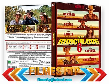 The Ridiculos 6 2015 Dublado DVD-R AUTORADO / AVI