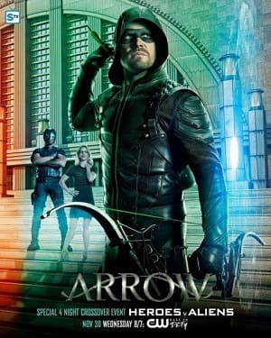 Torrent Série Arrow - 6ª Temporada 2017 Dublada 720p BDRip HD completo
