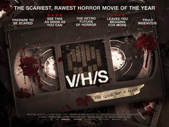 V/H/S Quad Poster