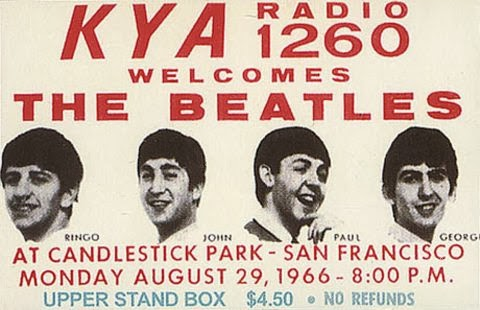 The Beatles at Candlestick