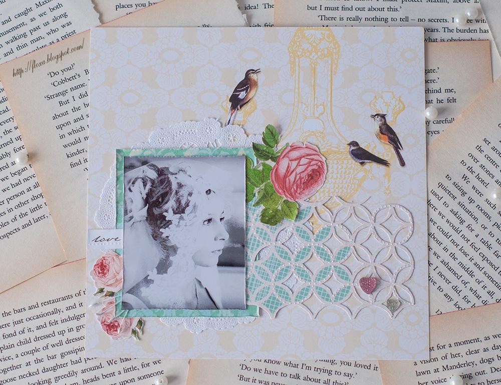 скрап невеста, скрап свадьба, утро невесты, Modern romance от Webster pages, Вotanical tea collection от Graphic 45,