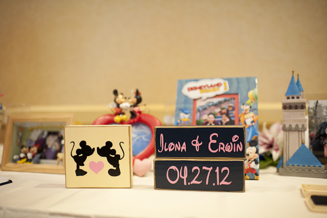 Welcome Table - Disneyland Wedding {Sarina Love Photography}