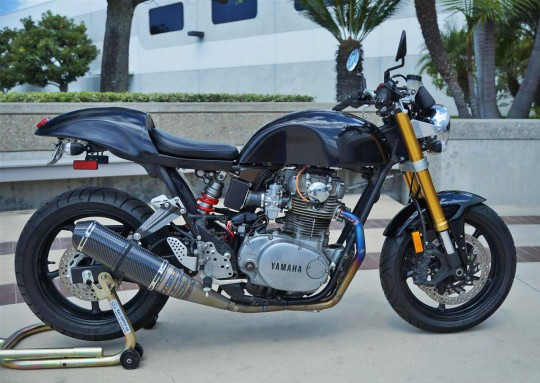 Racing Caf U00e8  Yamaha Xs 650 1979 Special By Kenny Spurlock