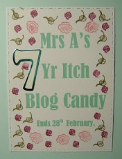 Mrs A's Blog Candy