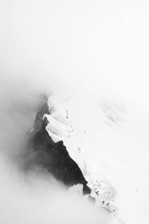 مه، برف، کوه