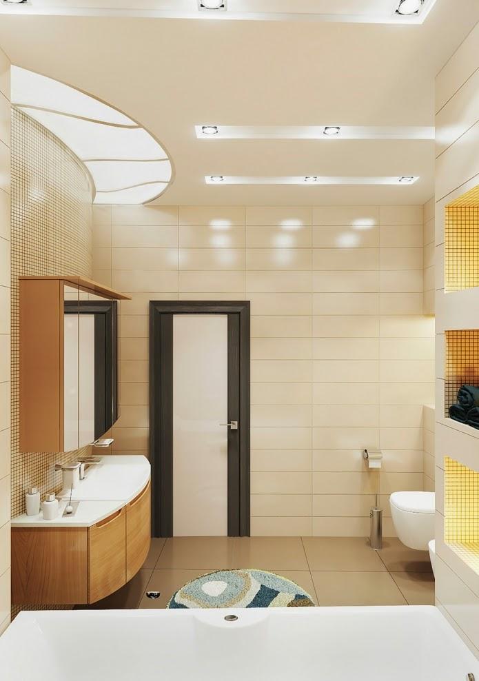 Modern Bathroom Color Schemes elegant small bathroom design in beige and brown color scheme
