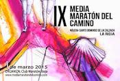 IX Media maratón del Camino 2.015