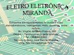 Eletro Eletrônica
