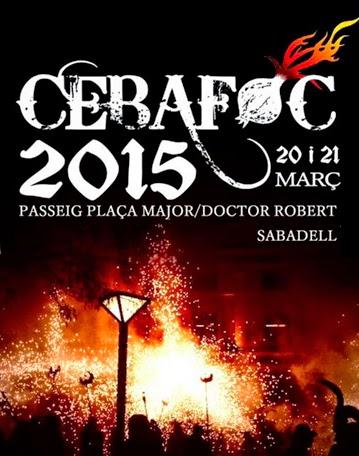 CEBAFOC 2015 de Sabadell