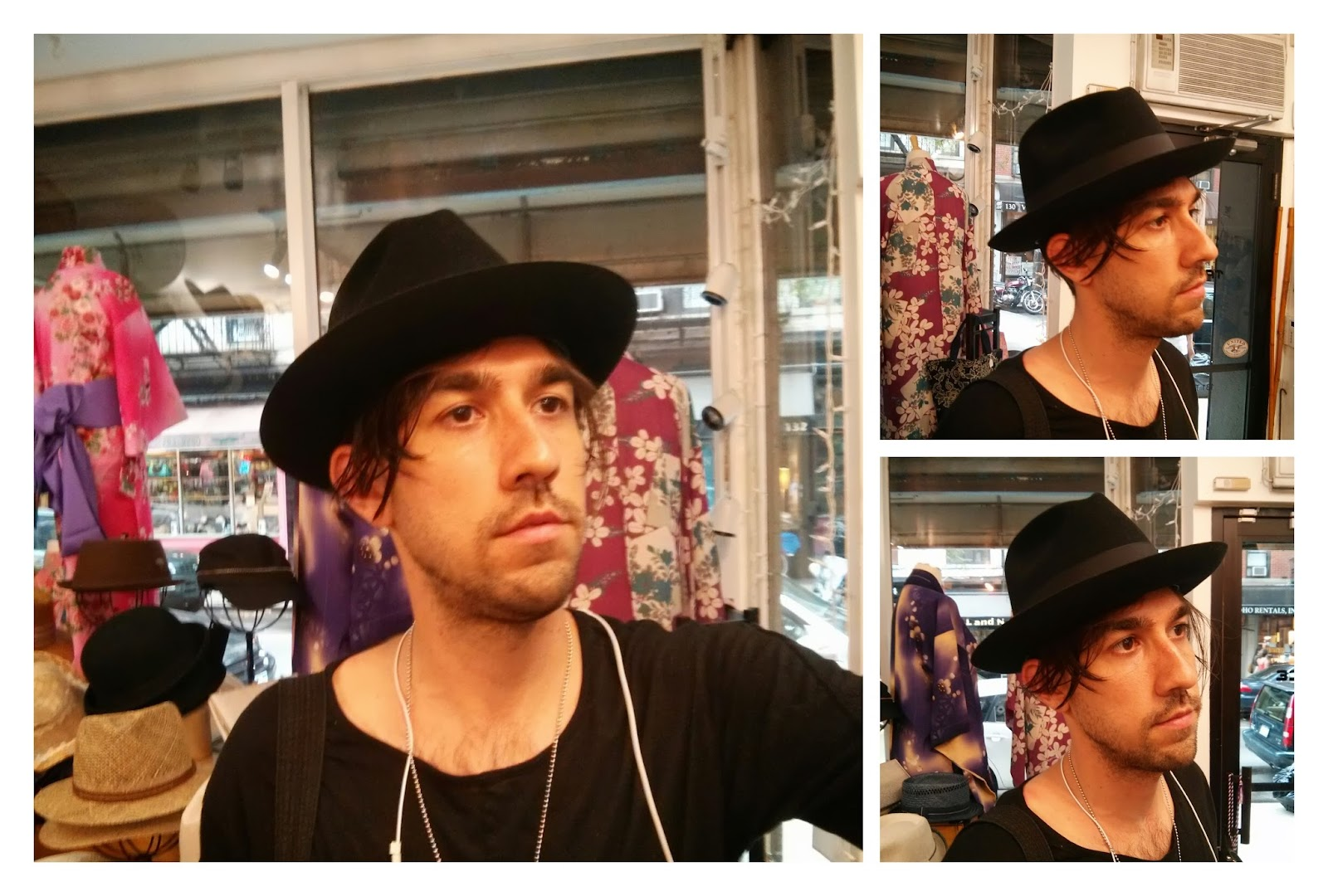 Mens Fedora hat