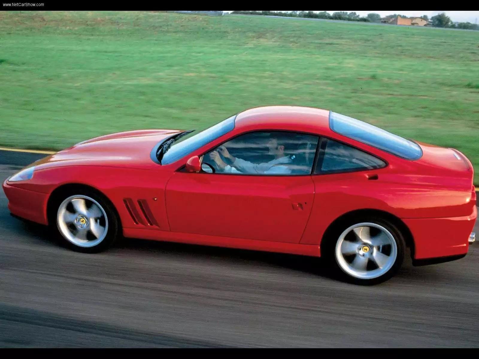 Hình ảnh siêu xe Ferrari 550 Maranello 2001 & nội ngoại thất