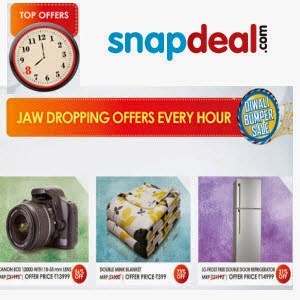 Snapdeal Jaw Dropping Deals – Get Offers Every Hour