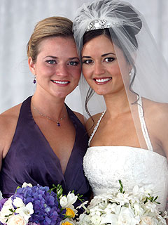 Danica McKellar and Crystal McKellar Wedding