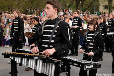 xylofon, chalmers, cortegen, kortegen, chalmerskortegen, chalmerskortegen, valborg, valborgsmässoafton, göteborg, foto anders n