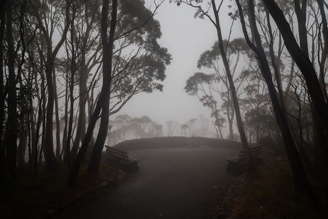 major mitchell lookout in cloud macedon