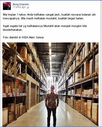 Bong Chandra - Ikea Indonesia Alam Sutera