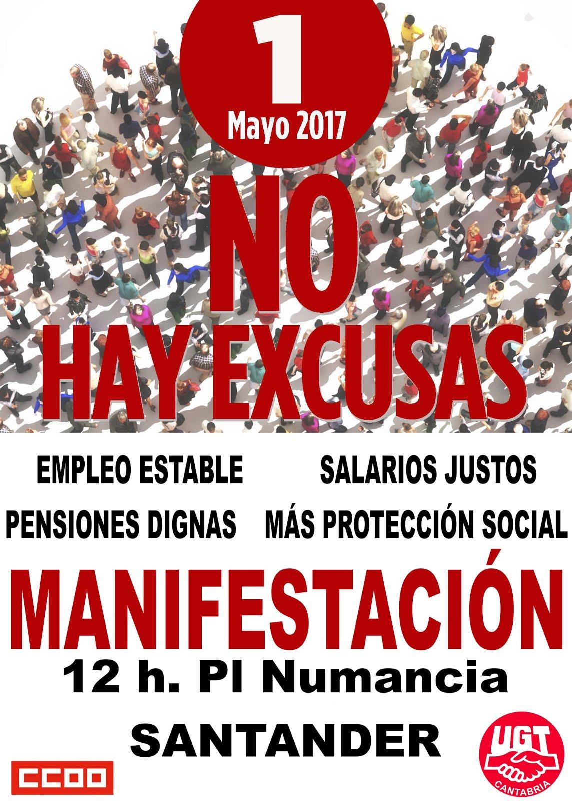 ¡HACES FALTA!! 1º DE MAYO MANIFESTACIÓN