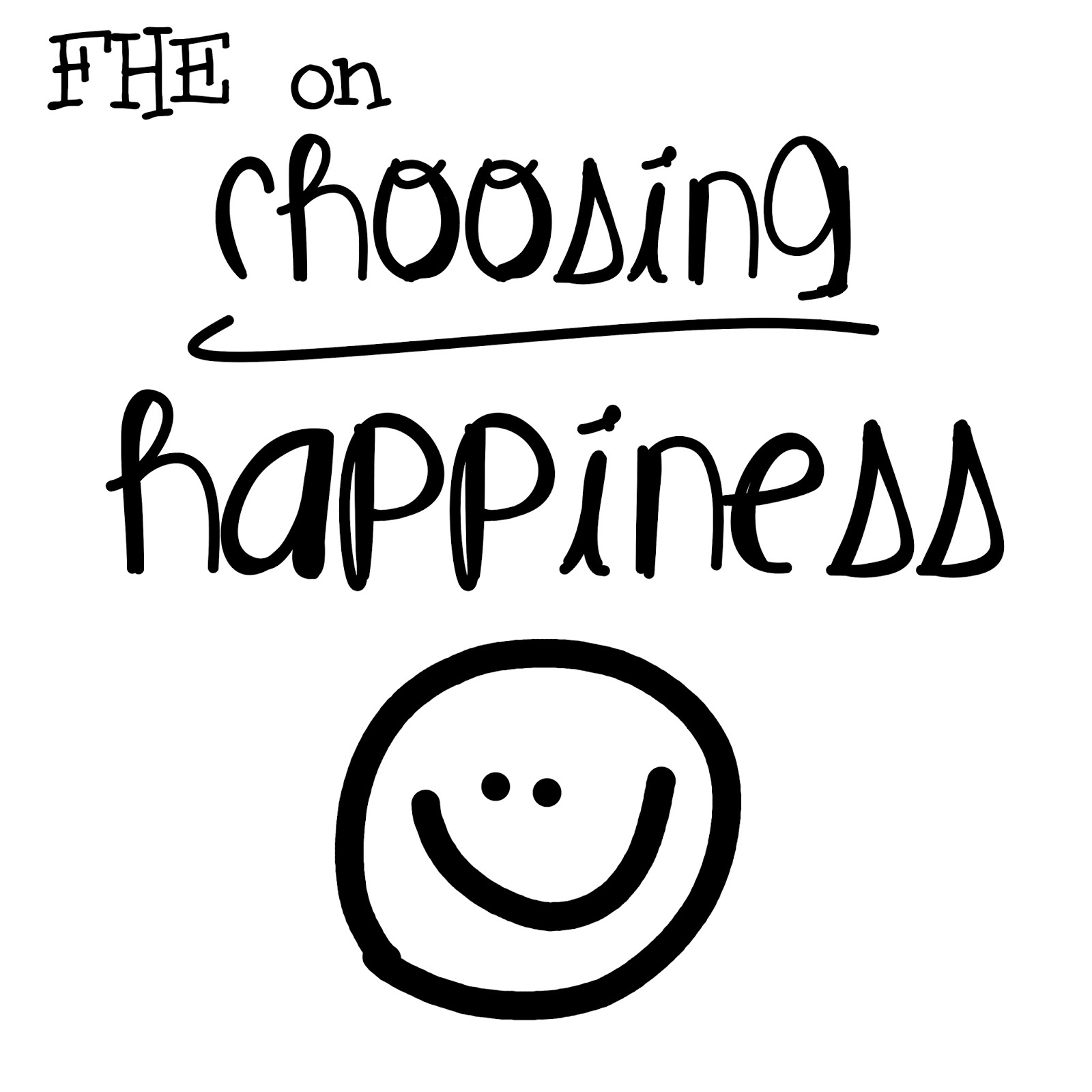 Life\'s Journey To Perfection: Choosing Happiness: Based off of the ...