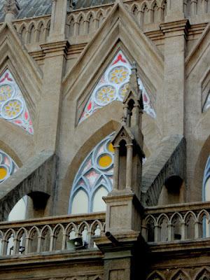architecture of st. philomena church mysore