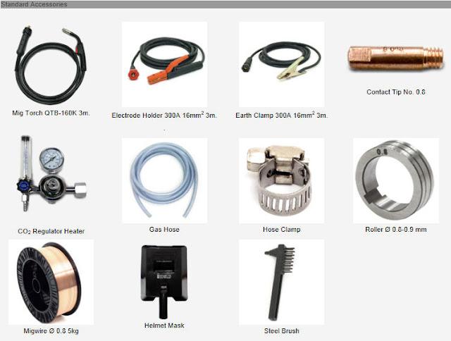 ตู้เชื่อมไฟฟ้า IWELD  รุ่น MIG MMA 225 IGBT