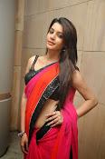 Deeksha panth sizzling saree stills-thumbnail-3