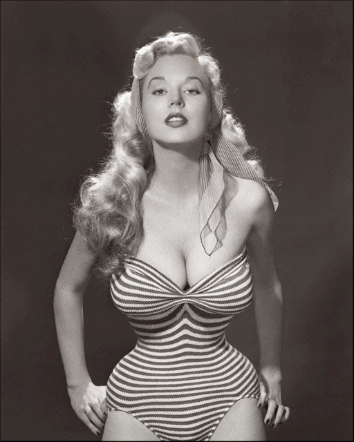 1950s Pinup Model Betty  Waist Training Guide