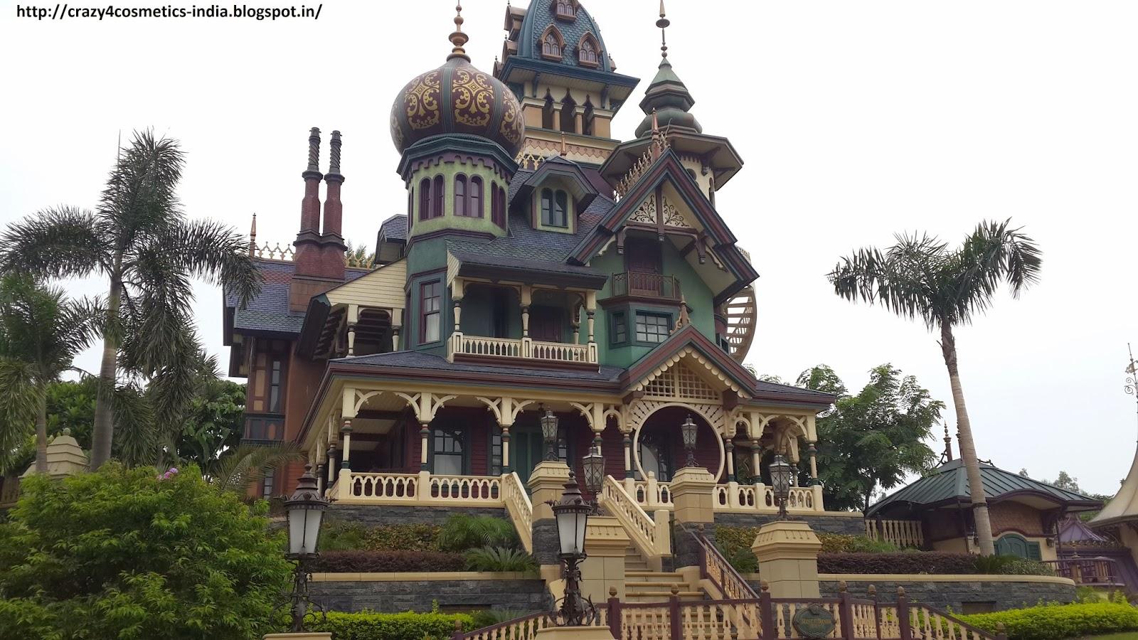 Hongkong Disneyland Tourism- Mystic Manor Ride Hongkong Disneyland