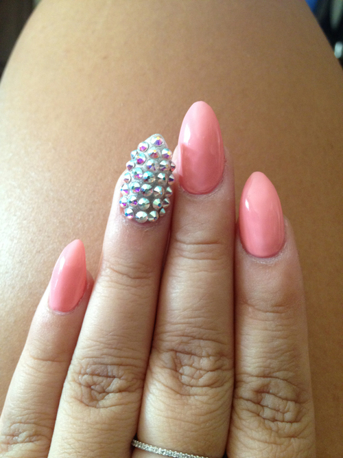 The Charming Hot pink nail designs Photo