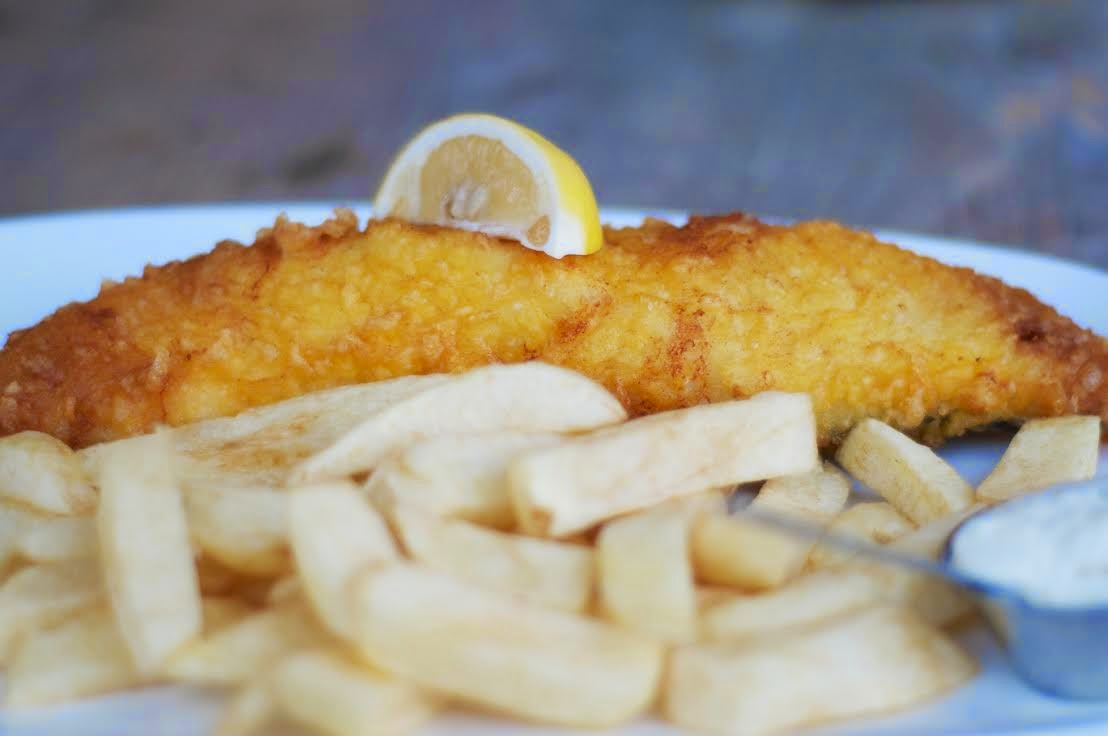 London pop ups sutton sons 39 pop up fish chip shop at for London fish and chips