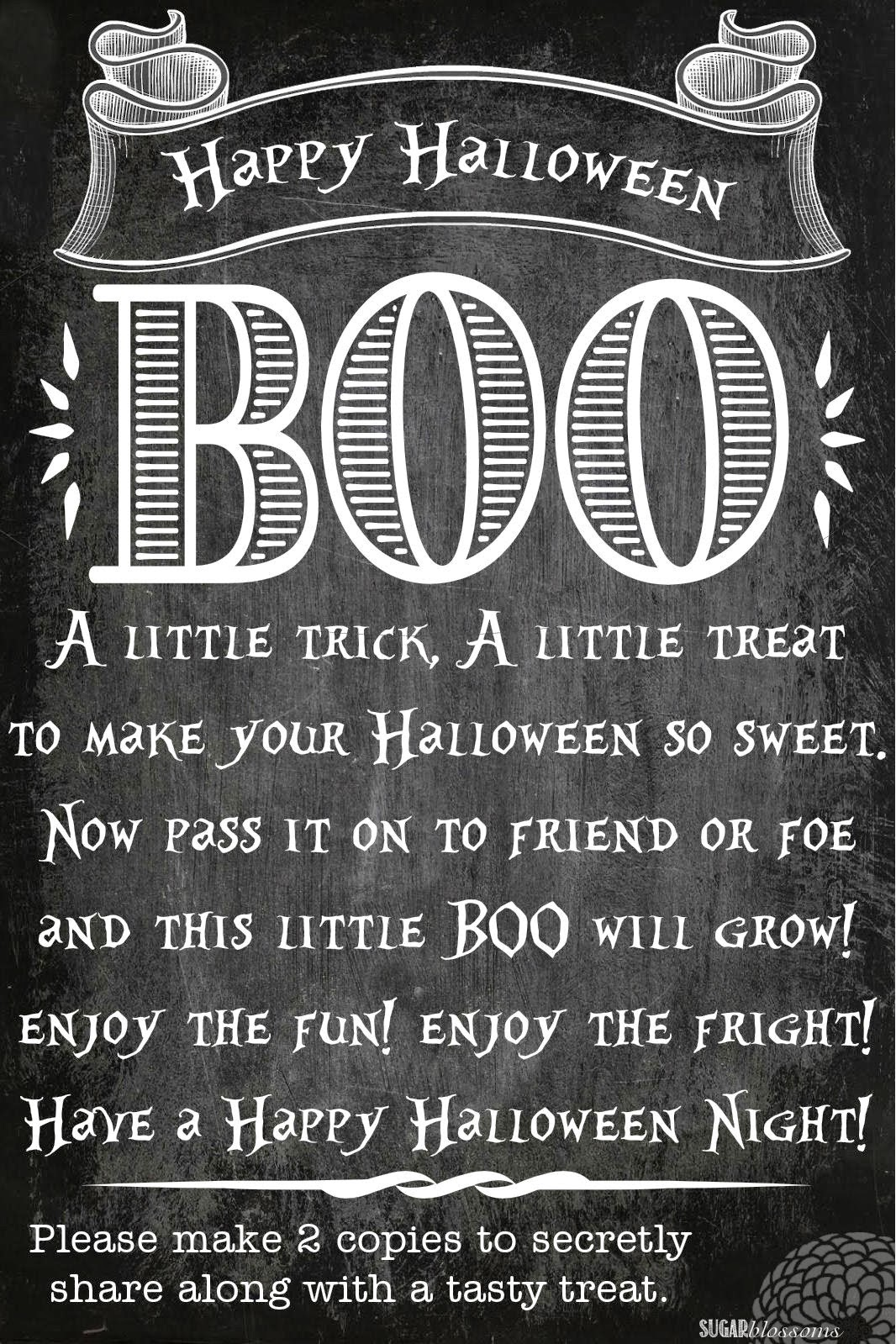 This is a photo of Mesmerizing Boo Grams Printable