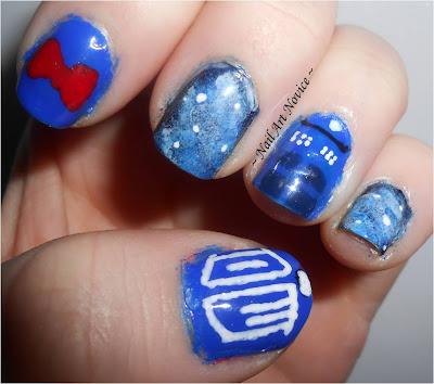 Doctor Who Nail Art