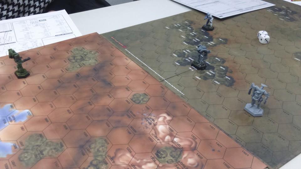 Informe de batalla: cacería de lobos  BT1