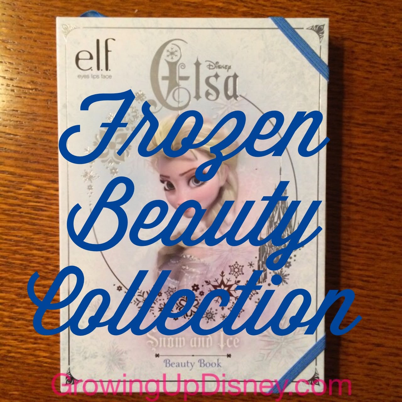 Elsa makeup collection from Elf available at Walgreens, Growing Up Disney