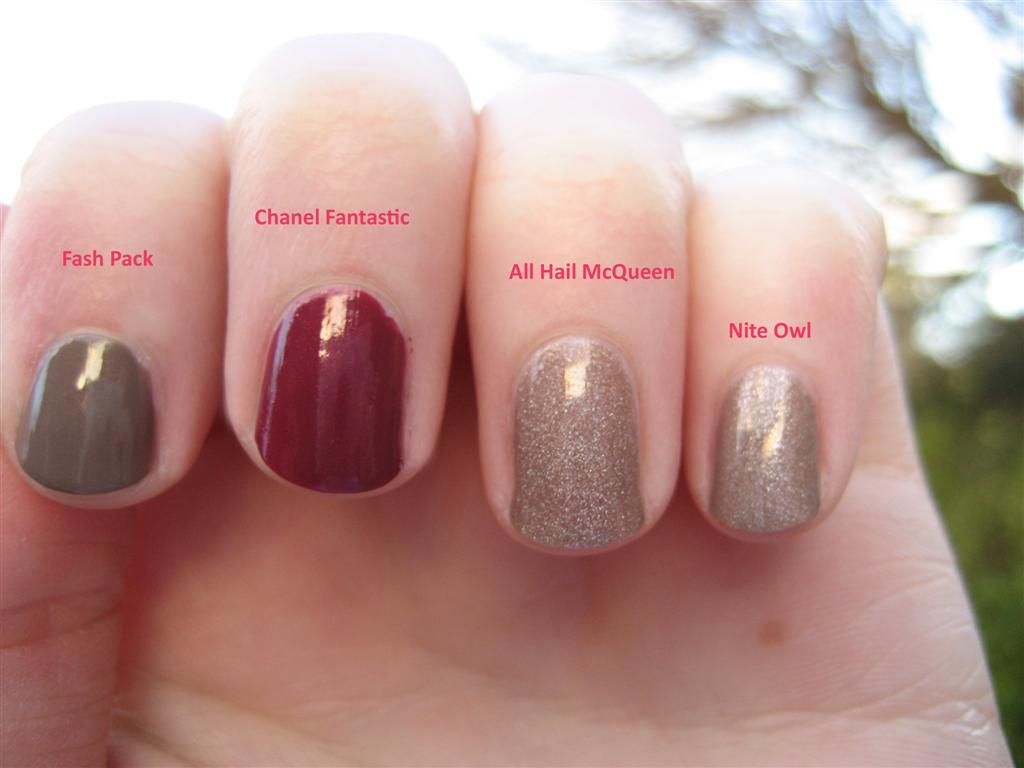 Butter Londons Alexander McQueen Nail Polishes