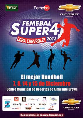 Super 4 - Copa Chevrolet: Definidas las semifinales | Mundo Handball