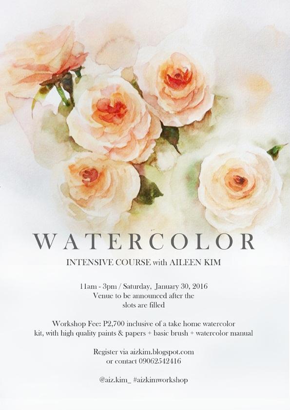 Workshop (Intensive Watercolor)