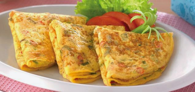 Resep Spesial Telur Dadar Lauk Enak Siap di Santap 10 Menit Saja