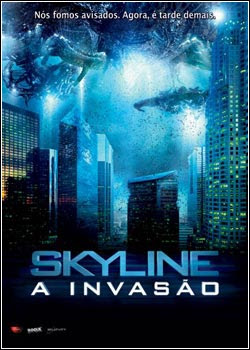 Download - Skyline - A Invasão DVDRip - Dual Áudio